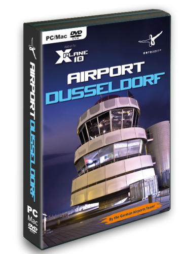 Airport Dusseldorf for X-Plane 10
