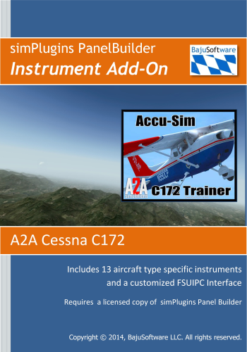 Panel Builder Instrument Add-On A2A C172 - Download- 2 99