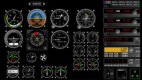"Panel Builder Instrument Add-On Analog – ""Steam Gauges""- Download"