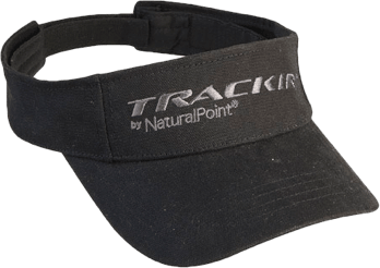 Black Visor for TrackIR5 for Vector Clip