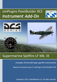 Panel Builder Supermarine Spitfire for DCS- Must have New Base Program