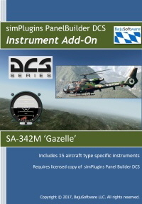 Panel Builder SA-342M Gazelle-Instrument  Add-on  for New Version of DCS